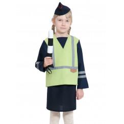 Детский костюм ДПС/ГАИ/ГИБДД для девочки