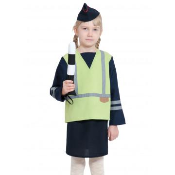 Детский костюм ДПС/ГАИ/ГИБДД для девочки - 880.00