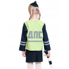 Детский костюм ДПС/ГАИ/ГИБДД для девочки арт. КС367