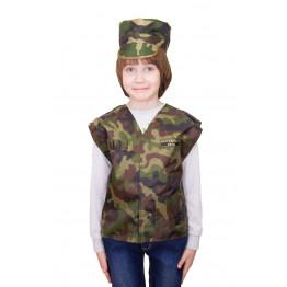 Детский костюм военного КМФ арт. КС07
