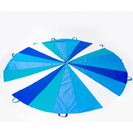 Игра парашют Зимняя сказка синий 20 секторов 8 ручек арт. ИИ150
