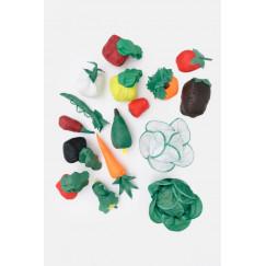 Набор дидактический Овощи ФГОС арт. ДМ08