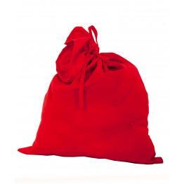 Мешок Деда Мороза красный