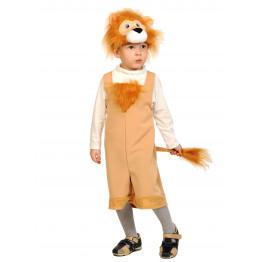Львёнок ткань-плюш