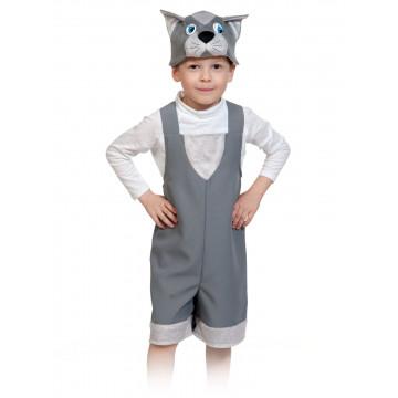 Котик серый ткань-плюш NEW! - 660.00