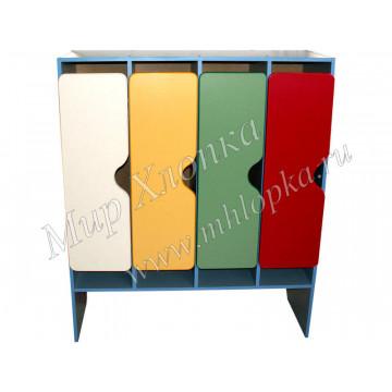 Шкаф для одежды 4-х секционный арт. М-89-4 - 9,159.00