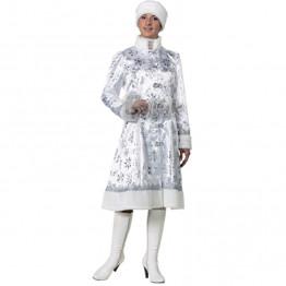 Снегурочка сатин белая (д/взр) р.48-50