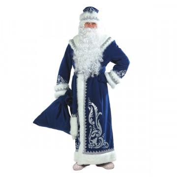 Дед Мороз аппликация синий (д/взр) р.54-56 - 4,752.00