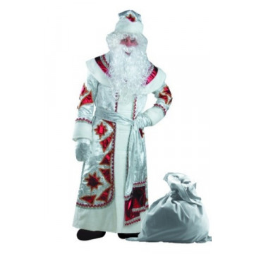 Дед Мороз серебряно-красный (д/взр) р.54-56 - 6,336.00
