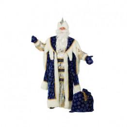 Дед Мороз Королевский синий р.54-56