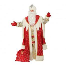 Дед Мороз Королевский красный р.54-56