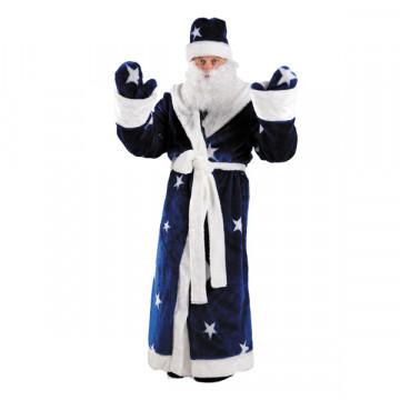 Дед Мороз мех синий (д/взр) р.54-56 - 3,960.00