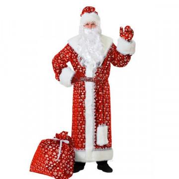 Дед Мороз плюш красный (д/взр) р.54-56 - 4,464.00