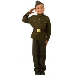 Солдат военных лет