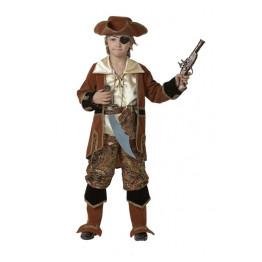 Капитан пиратов коричневый р. 28-40