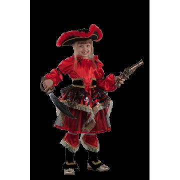 Пиратка красная р.30-38 - 1,800.00