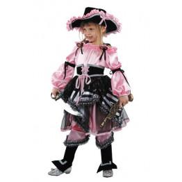 Пиратка розовая р.30-38