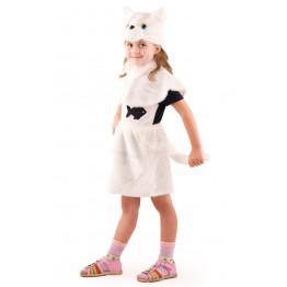 Кошка белая (мех) р.28