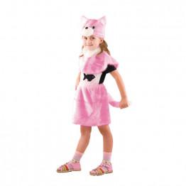 Кошка розовая (мех) р.28