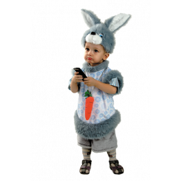 Кролик Кроха (плюш) р.28