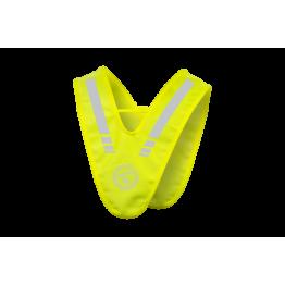 Жилет-накидка светоотражающая полоса