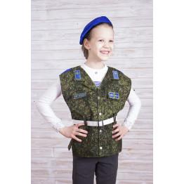 Детский жилет (костюм) ВДВ арт. КС341