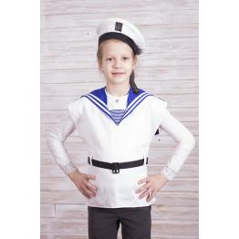 Жилет моряка с бескозыркой арт. КС340