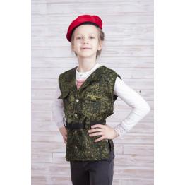 Детский жилет (костюм) спецназовца арт. КС342