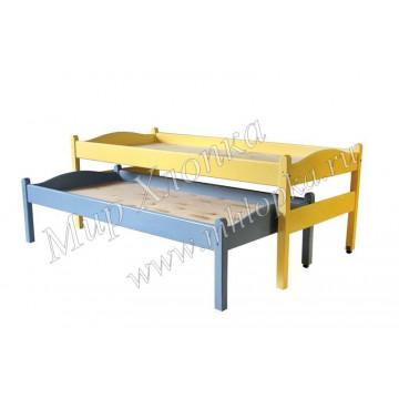 Кровать двухъярусная выкатная