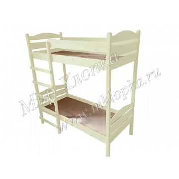 Кровать детская двухъярусная слоновая кость - 8,580.00