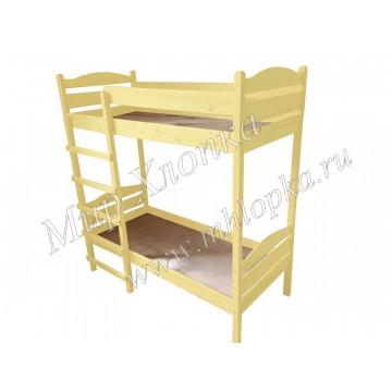 Кровать детская двухъярусная желтая - 8,580.00