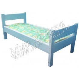 """Кровать детская """"Крепыш"""" синяя арт.КД30"""