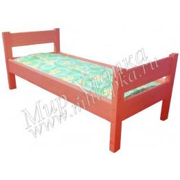 """Кровать детская """"Крепыш"""" красная арт.КД30"""