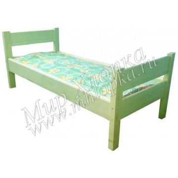 """Кровать детская """"Крепыш"""" зеленая арт.КД30"""