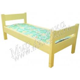 """Кровать детская """"Крепыш"""" желтая арт.КД30"""