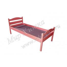 """Кровать детская """"Соня"""" красная"""