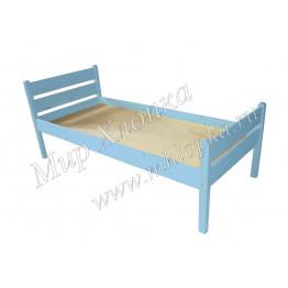 """Кровать детская """"Мишаня"""" синяя"""