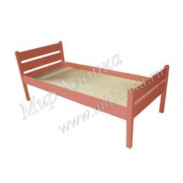 """Кровать детская """"Мишаня"""" красная"""