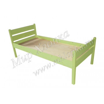 """Кровать детская """"Мишаня"""" зеленая"""