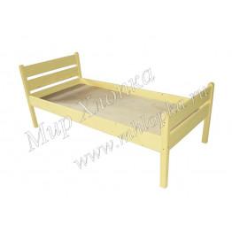 """Кровать детская """"Мишаня"""" желтая"""