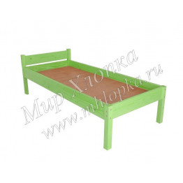 """Кровать детская """"Мини"""" зеленая арт.КД28"""