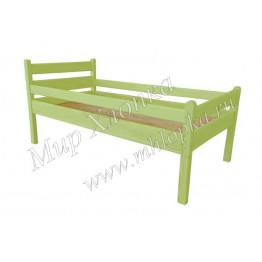 """Кровать детская """"Мишаня"""" с бортами зеленая"""