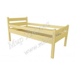"""Кровать детская """"Мишаня"""" с бортами желтая"""