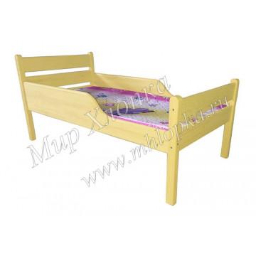 """Кровать детская """"Мишаня"""" с полубортами желтая - 4,680.00"""