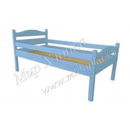 """Кровать детская """"Соня"""" с бортами синяя"""