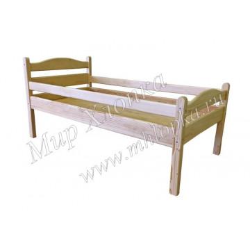 """Кровать детская """"Соня"""" с бортами лак"""