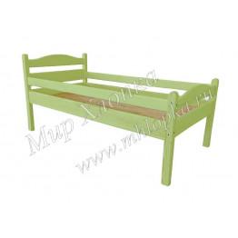 """Кровать детская """"Соня"""" с бортами зеленая"""