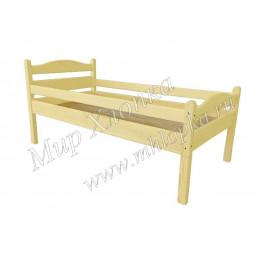 """Кровать детская """"Соня"""" с бортами желтая"""