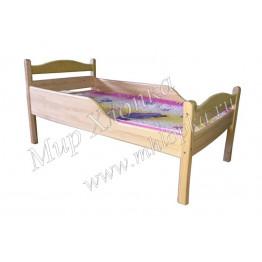 """Кровать детская """"Соня"""" с полубортами лак"""