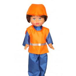 """Одежда для куклы """"Строитель"""" арт.ОК06"""